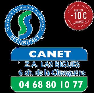 Sécuritest CANET réduction Loisirs 66