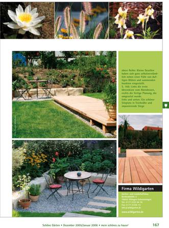 Hausgartenumgestaltung in Bräunlingen