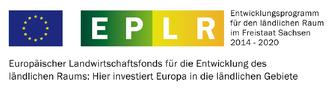 Förderlogo für Vorhaben im Freistaat Sachsen, die aus dem Europäischen Landwirtschaftsfonds gefördert werden