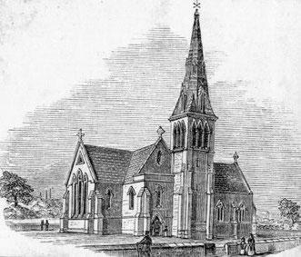 St Stephen's church - demolished