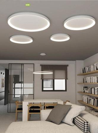 LED-Pendel- und Decken-Leuchten KELLY