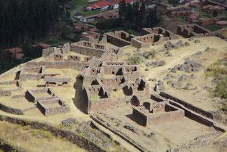 les ruines de l'Intiwatana