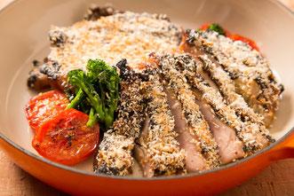 近江黒鶏胸肉の滋賀県儀兵平 味噌のバーニャカウダ