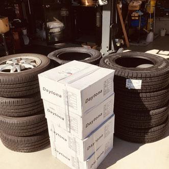 岐阜市持込タイヤ交換ならgaragelookerにお任せ下さい。