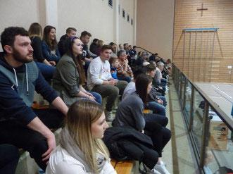 Die Stimmung bei den Heimspielen der Volleyball-Damen des SV Gaukönigshofen ist stets besonders gut.