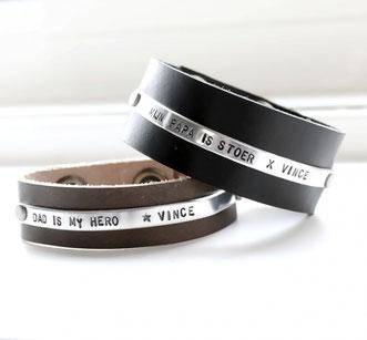 Bracelet homme avec gravure personnalisée