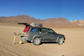 Gabriel, unser Fahrzeug in Südamerika 2015
