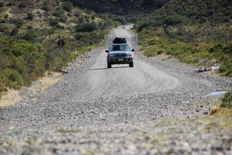 Mit unserem Gabriel auf der Carretera Austral in Chile