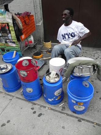 Straßen Musik in NYC