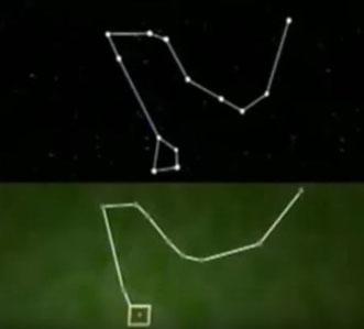 Angkor Vat gebaut synchron zum Sternzeichen des Drachen - nördl. Hemisphere  (10500 B.C.)