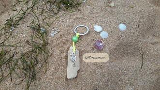 caballito de mar, llavero madera, llavero caballito de mar, maderasdelmar.com, maderas del mar