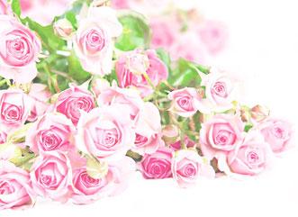 13、バラの花束