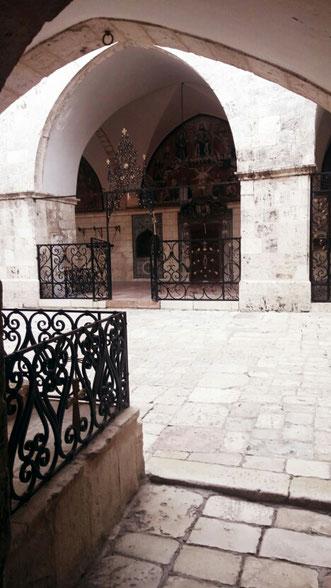 Вход в храм свв. Иаковов