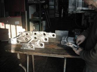 Procedimento di  assemblaggio dei Motoriduttori per saliscale TCS/Elviotrolley , foto numero 2 .