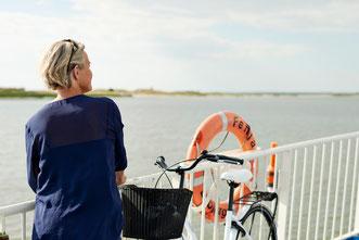Dänemark ist Fährenland - hier die Überfahrt von Esbjerg nach Fanø. Foto: VisitDenmark / Niclas Jessen