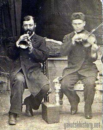 Самуил и Моисей Горовацкие. Витим, 1889 г.