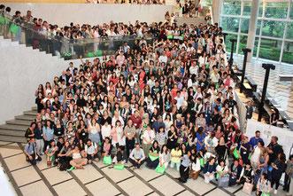 ↑参加者集合写真の一部。多すぎて?全員映り切ってません。
