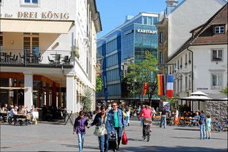 Nahe City von Lörrach