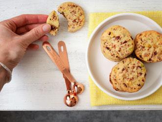 Cranberry-Pistazien-Cookies