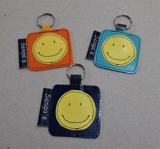 Schlüsselanhänger schlicht Smile