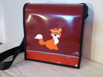 """Kindergartentasche """"Fuchs"""" aus Blachen"""