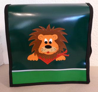 """Kindergartentasche """"Löwe"""" aus Blachen"""