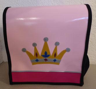 """Kindergartentasche """"Krone"""" aus Blachen"""