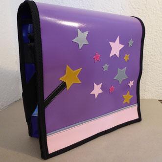 """Kindergartentasche """"Sternen-Zauber"""" aus Blachen"""