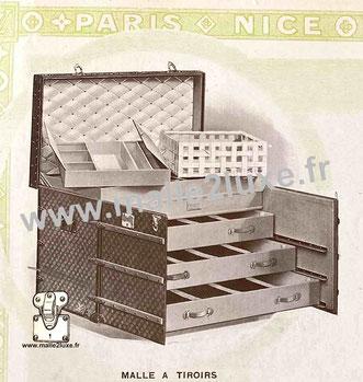 Page 12 - Catalogue Louis Vuitton 1914 - Malle a tiroirs