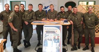 Das Team der AUF/AFH 7.JgBrig ist für die PV-Wahl´19 gerüstet