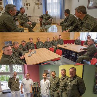 AUF/AFH Dienststellenbesuche in Oberösterreich