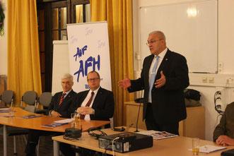 Präsident der FGÖ Bundesheergewerkschaft Manfred Haidinger