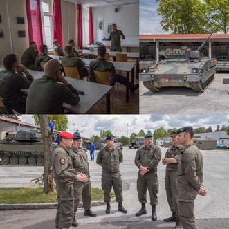 AUF/AFH Personalvertreter bei der Panzertruppe