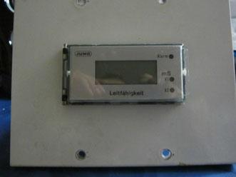 Leitfähigkeitsmeßgerät der Fa. Jumo  2P1L2-R1As/020/03/06 für die  Chemie