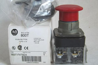 Allen Bradley Push Button 413 800T-FXT6D4 06 für die Chemie/ Labor