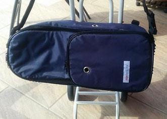 Caddy für mobiles Sauerstoffgerät + Rucksacktasche für 2 ltr. Sauerstoffflasche für Medizin und Praxis