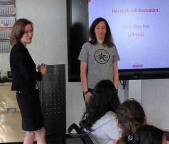 URANO-Geschäftsführerin Eva Beuscher (links) und Denise Hoffmann, URANO-Expertin für Ausbildung.
