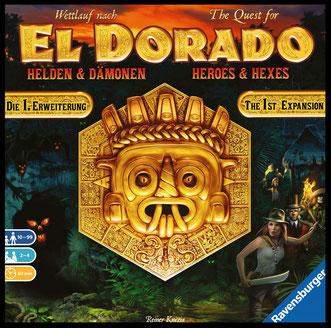 Wettlauf nach El Dorado: Helden und Dämonen
