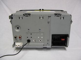 Abb. 1: Rückansicht eines RCD510-Radiomodules mit 2 Kanal Cinch-Out-System