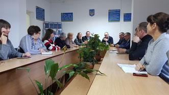 Besuch der Arbeitsagentur Biloberizka
