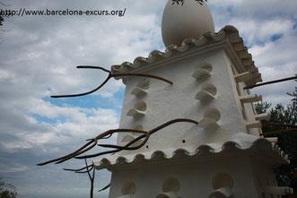 дом-музей дали в порт-льигат голубятня с вилами