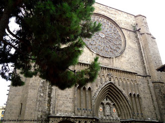 санта мария дель пи барселона, церкви барселоны, готический квартал барселоны