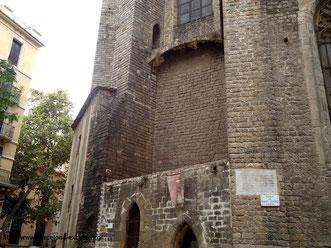 Церковь Санта Мария дель Пи, готический квартал, пешеходные экскурсии