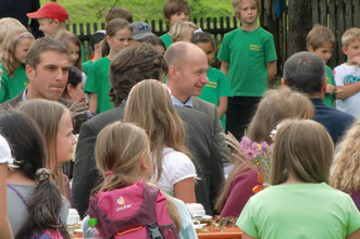 Siegerehrung Schulgartenwettbewerb, Maierhöfen