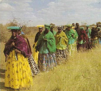 Herero Frauen