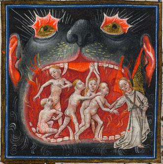 """Befreiung aus dem Fegefeuer""  (Quelle: wikimedia.org; File:Hellmouth.jpg)"