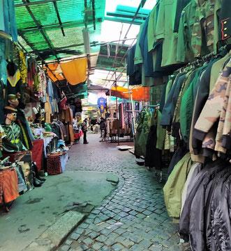 Блошиный рынок в Риме, фото