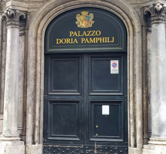 Галерея Дория памфили в Риме