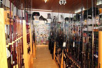 Angelruten für Fliegenfischen, Raubfische, Karpfenfischen, Forellenfischer und Wallerruten