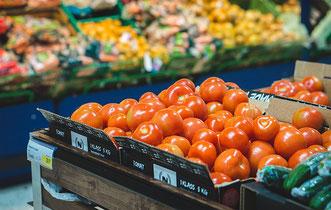 In manchen Orten wurde die Tomate erst mit dem Aufkommen der Supermärkte bekannt